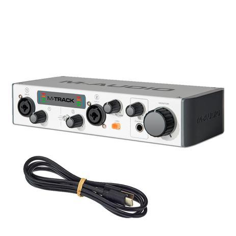 Imagem de Interface de Áudio M-Audio MTRACKII USB 2 Canais