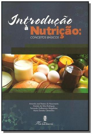 Imagem de Introducao a nutricao: conceitos basicos - Martinari
