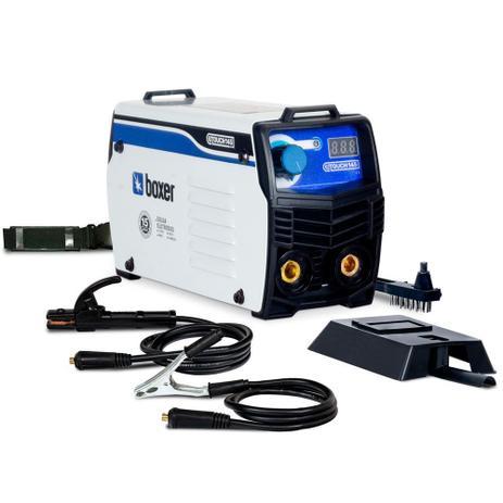 Imagem de Inversora de solda 140 amperes para eletrodo revestido e tig - TOUCH145 - Boxer