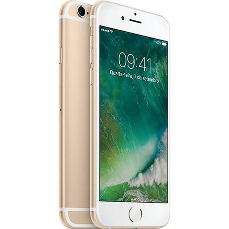 Imagem de iPhone 6s 16GB Dourado Tela 4.7