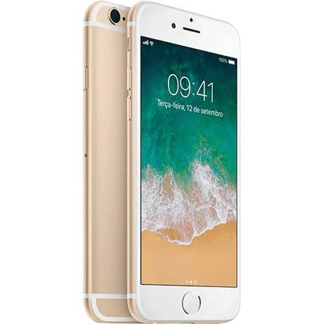 Imagem de iPhone 6S 32GB Dourado Tela 4,7