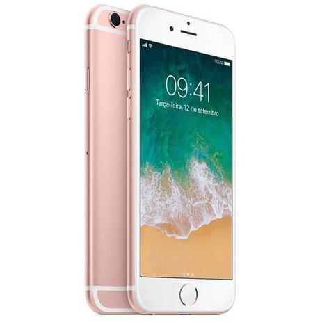 Imagem de iPhone 6s Apple Ouro Rosa 32GB, Desbloqueado - MN122BR/A