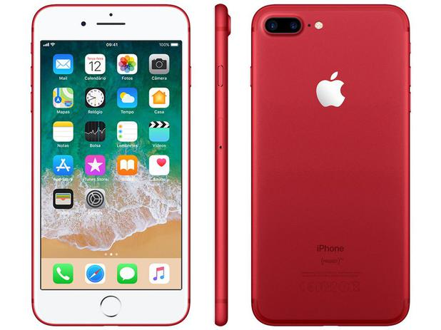 iphone 7 plus red special edition apple 128gb 4g 5 5. Black Bedroom Furniture Sets. Home Design Ideas