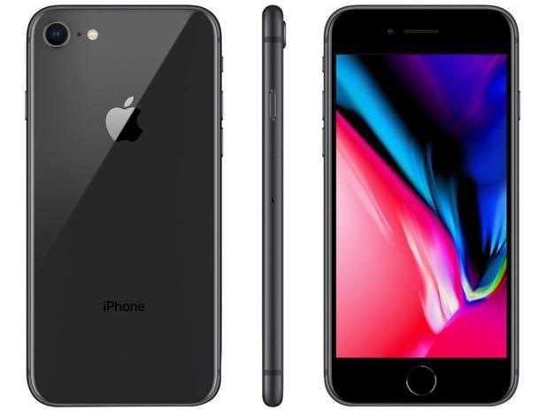"Imagem de iPhone 8 Apple 128GB Cinza Espacial 4G Tela 4,7"""