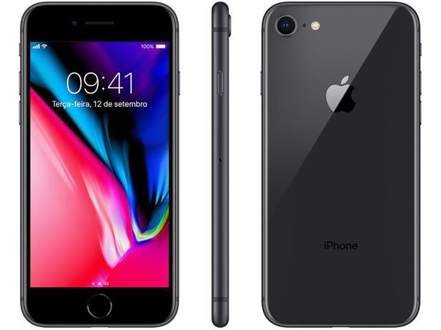 "Imagem de iPhone 8 Apple 64GB Cinza Espacial 4G Tela 4,7"""