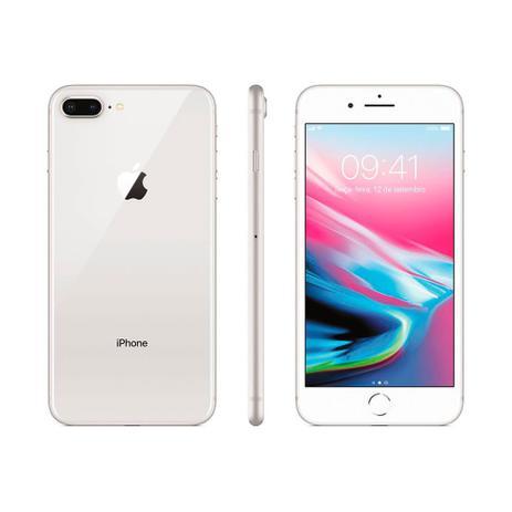 Imagem de iPhone 8 Apple Plus 256GB Tela Retina HD de 5.5 Polegadas iOS 11 Dupla Câmera Traseira Wi-Fi 4G