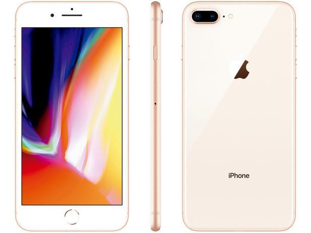 "Imagem de iPhone 8 Plus Apple 256GB Dourado 4G Tela 5,5"""