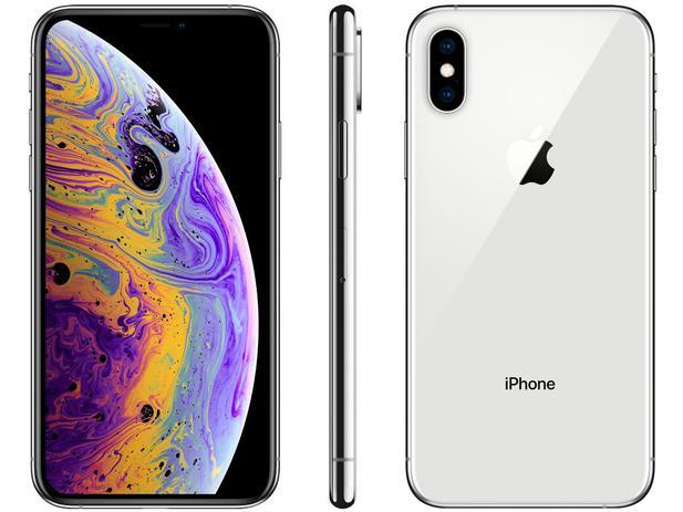 """Imagem de iPhone XS Apple 512GB Prata 4G Tela 5,8"""" Retina"""