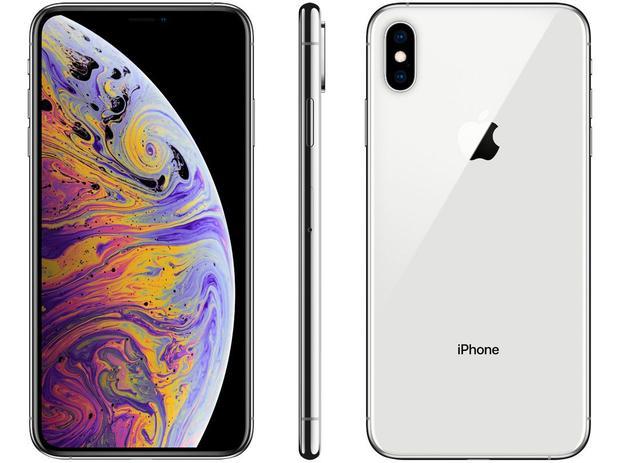 4aa607b41 iPhone XS Max Apple 512GB Prata 4G Tela 6