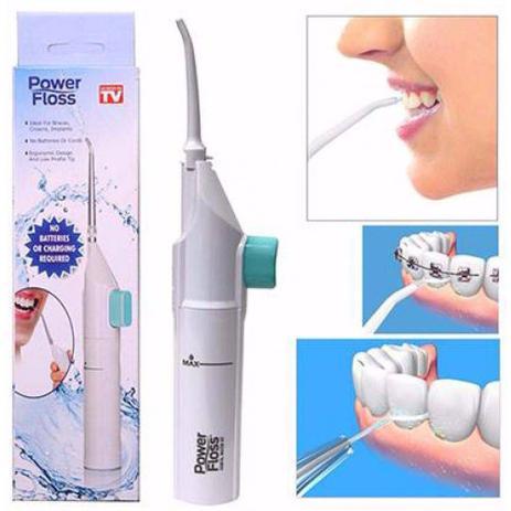14952a932 Irrigador Bucal Limpeza de Dentes Power Floss - Irrigador Oral ...