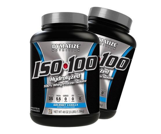 Imagem de Iso 100 1,3kg - Dymatize - PROMOÇÃO COMPRE 1 E LEVE 2