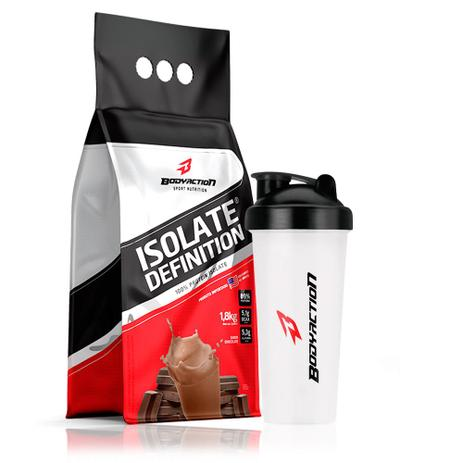db5d697a7 Isolate Definition Whey Isolado Refil 1.8kg - Bodyaction - Body action