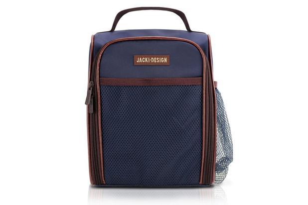 1cad50838 Jacki Design Bolsa Térmica Cor Azul e Marrom - Bolsa Térmica ...