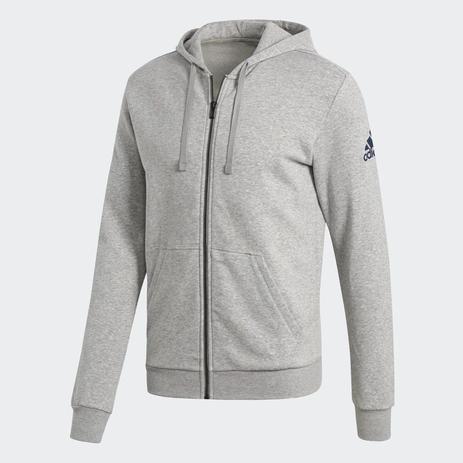77ebc37b6 Jaqueta Adidas Capuz Essentials Base Fleece Masculina - Abrigo ...