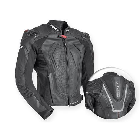 3f0fe546b8ede Jaqueta Couro Texx New Rock Evolution Preta - Vestuário Esportivo ...