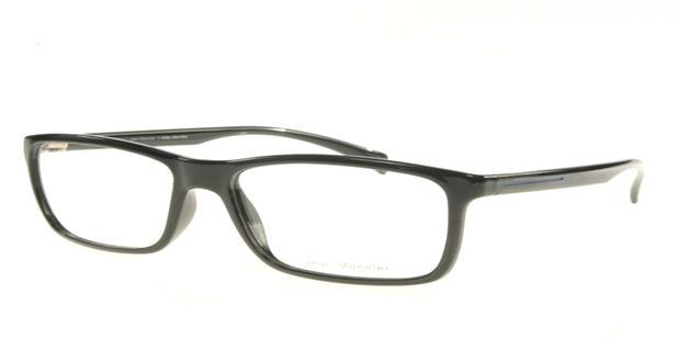 9abc13d95 Jean Monnier J83125 B810 Preto Polido Lente Tam 53 - Óculos de grau ...