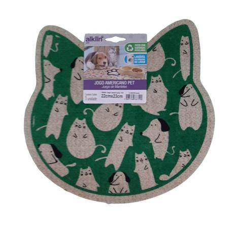 Imagem de Jogo Americano Pet Tapete/Comedouro Cães Gatos Premium