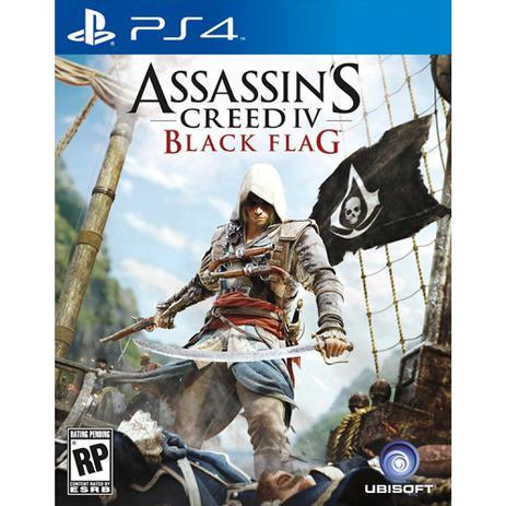Imagem de Jogo Assassins Creed Black Flag Ubisoft para Ps4 01122549533 - UBISOFT