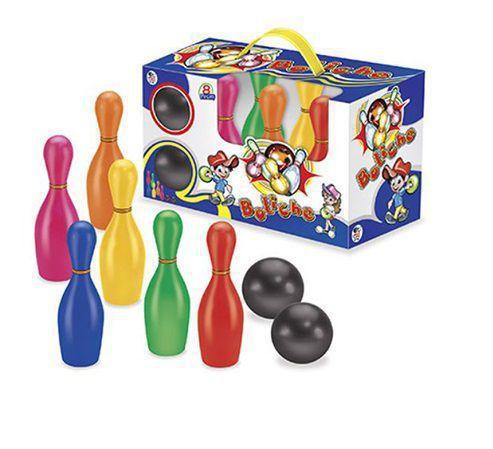 Imagem de Jogo Boliche Infantil com 6 Pinos e 2 Bolas
