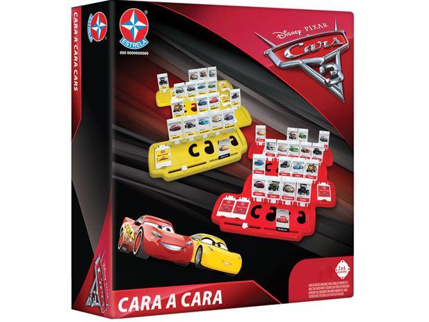 Jogo Cara a Cara Carros 3 - Estrela