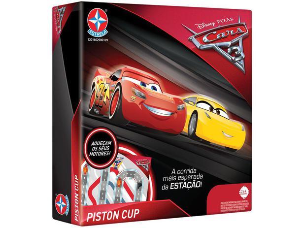 Jogo Cars 3 Disney Tabuleiro - Estrela