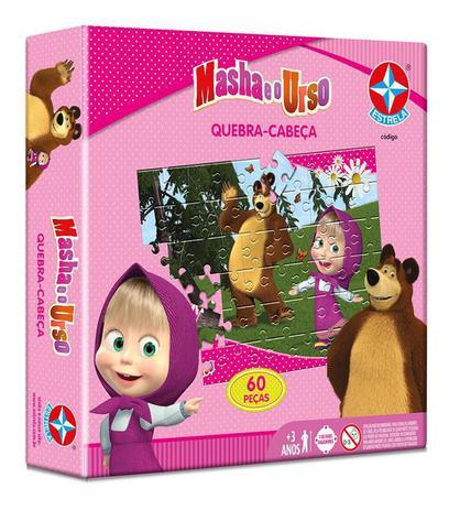 Jogo Cartas Opostas Masha E O Urso Estrela Jogos De Cartas
