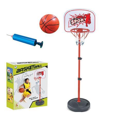 ecf981d48 Jogo de basquete com pedestal cesta tabela 2 em 1 portatil desmontavel  completa com altura ajustavel - Faça resolva