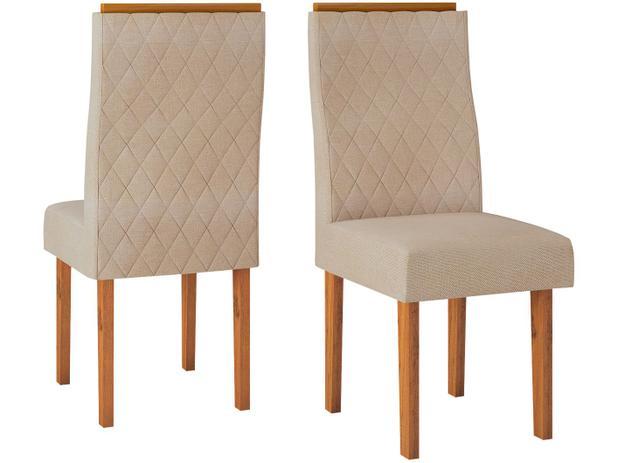 Imagem de Jogo de Cadeiras para Sala de Jantar Estofada