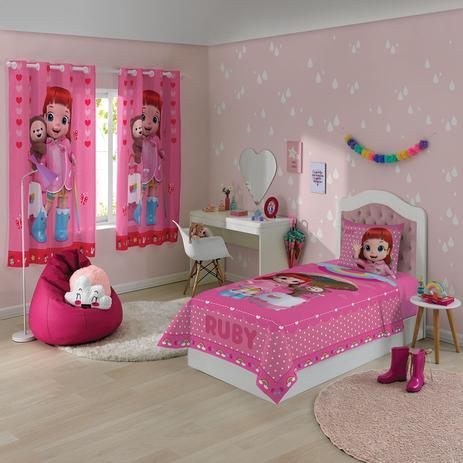 d903c62d96 Jogo De Cama 3 peças Infantil Estampado Rainbow Ruby - Lepper - Jogo ...