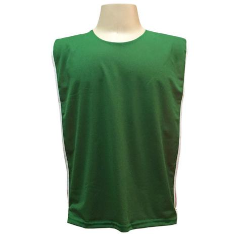 77f2e46e16 Jogo de Coletes Dupla Face 10 Unidades na cor Verde Vermelho - Kanga sport