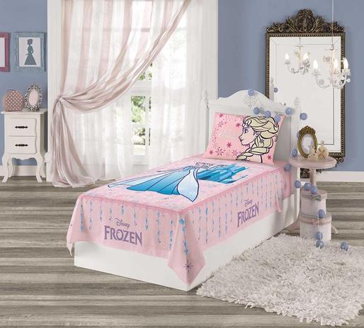 acafe953c9 jogo de lençol Infantil menina Lepper frozen Anna e Elza - Lançamento
