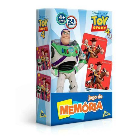 Jogo De Memoria Toy Story 4 Toyster Jogos De Memoria E Conhecimento Magazine Luiza