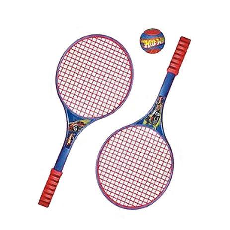 8068e3a33a Jogo de Raquete de Tênis Hot Wheels - Lider - Jogos - Magazine Luiza