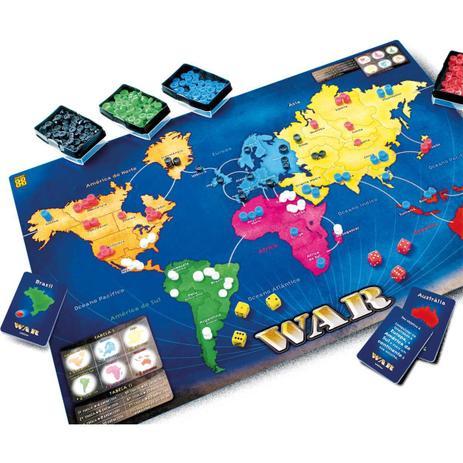 Jogo De Tabuleiro War Grow Jogos De Tabuleiro Magazine Luiza