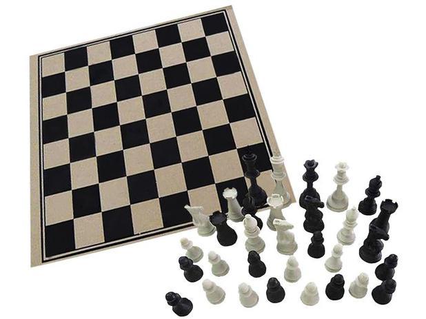 Imagem de Jogo de Tabuleiro Xadrez 32 Peças Pangué