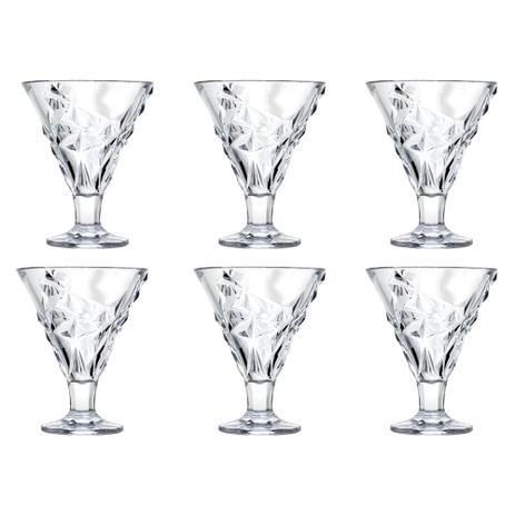 Imagem de Jogo de taças para sobremesa em cristal L'Hermitage Gellato Dolce 6 peças 220ml