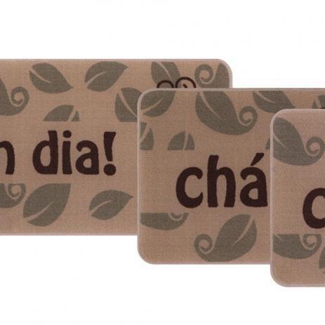 3673a80f5 Jogo de Tapetes de Cozinha Gourmet Sul 3 Peças - Jolitex - Tapete ...