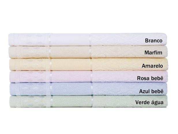 1f11f8b8b Jogo de toalha para pintar 2 peças Alice Karsten - Banho - Magazine ...