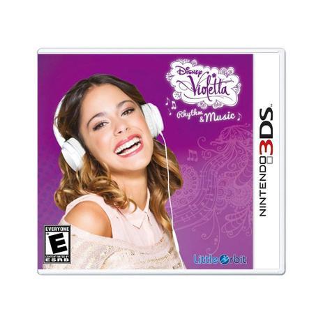 Imagem de Jogo Disney Violetta Rhythm & Music - 3DS