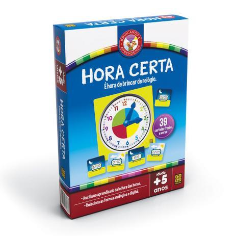 e18803e2ab Jogo Hora Certa - Grow - Jogos Educativos - Magazine Luiza
