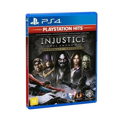 Imagem de Jogo Injustice Gods Among Us Ultimate Edition Play Station 4