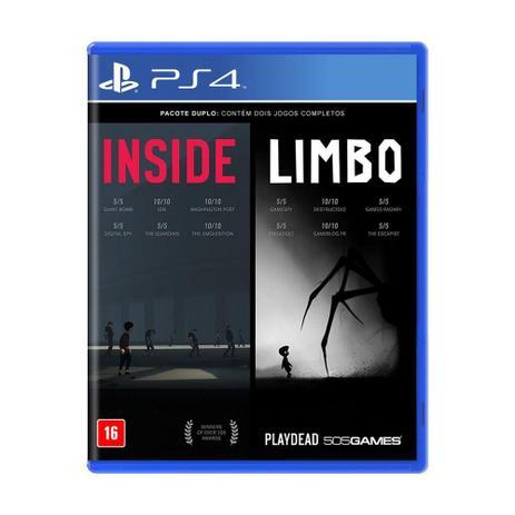 Jogo Inside + Limbo - PS4 - 505 games
