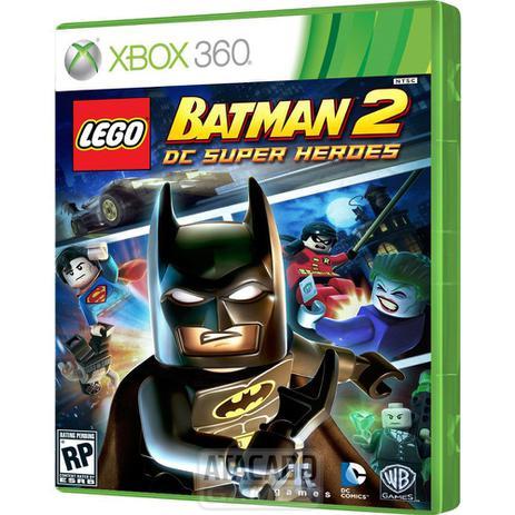 Imagem de Jogo Lego Batman 2 Dc Super Heroes Xbox 360 Original