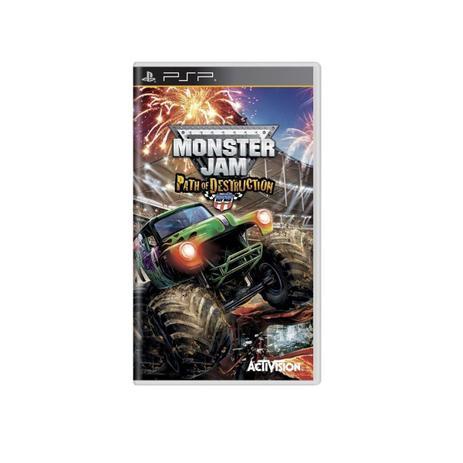 Imagem de Jogo Novo Monster Jam Path Of Destruction Original Psp