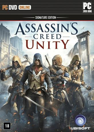 Imagem de Jogo p/ PC  Assassins Creed - Unity - Signature Edition DVD Original Mídia Física