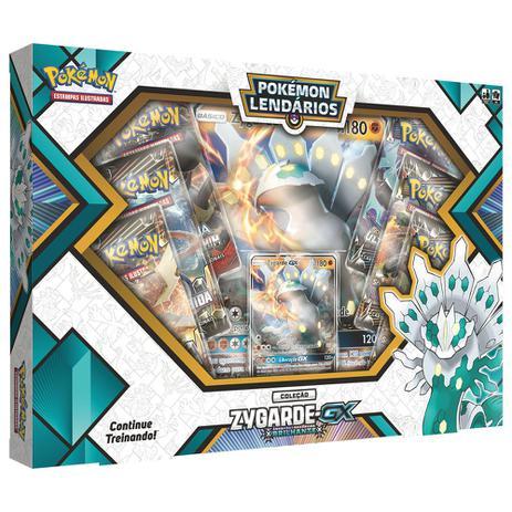 57699949d3 Jogo Pokémon - Box Pokémon Lendários - Coleção Zygarde-GX - Copag ...