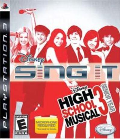 Imagem de Jogo PS3 Disney Sing It! High School Music