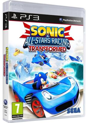 Jogo ps3 sonic all star racing transformed - Sega