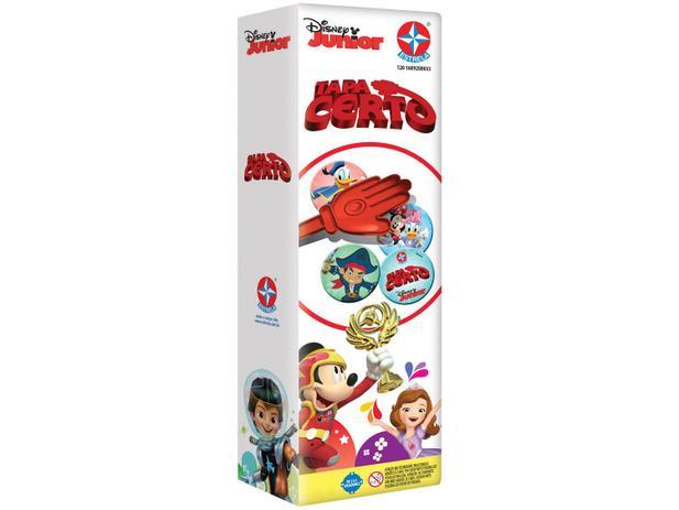 Jogo Tapa Certo Disney Jr - Estrela