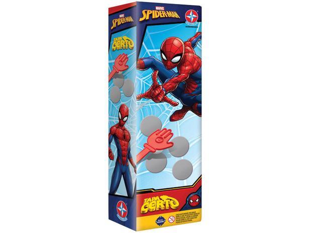 Jogo Tapa Certo Spiderman - Estrela